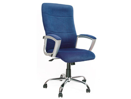 Silla De Direccion Uso Intensivo Color Azul Barata