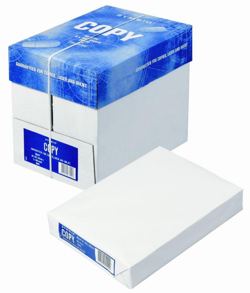 Papel a4 80 gr barato symbio copy el mejor precio de madrid for Precio de papel vinilico
