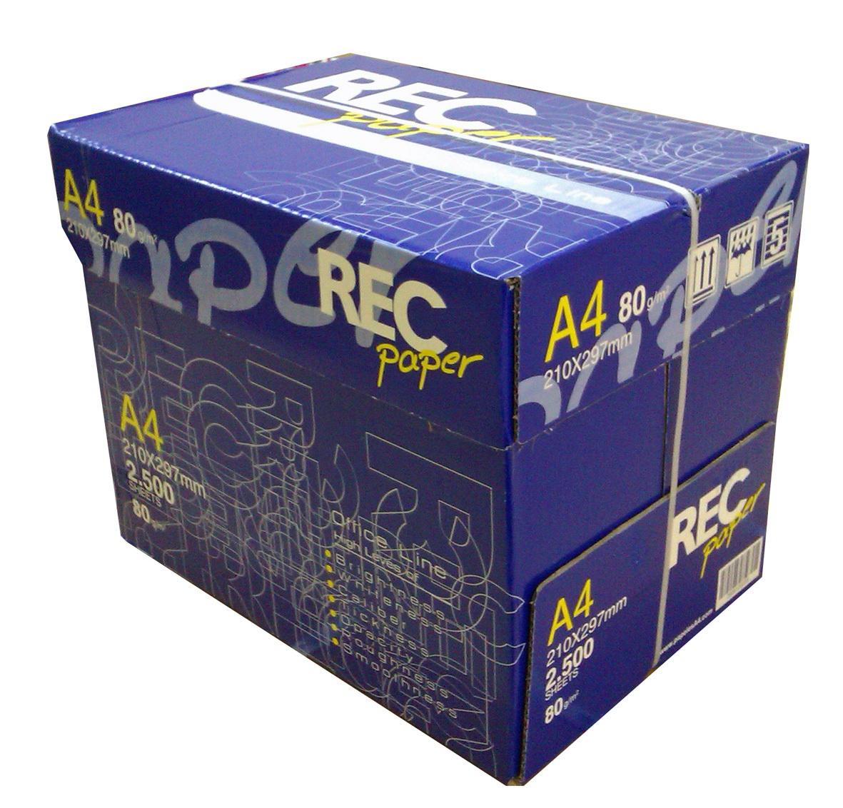 comprar palet papel a4 80 gramos fotocopiadora rec paper